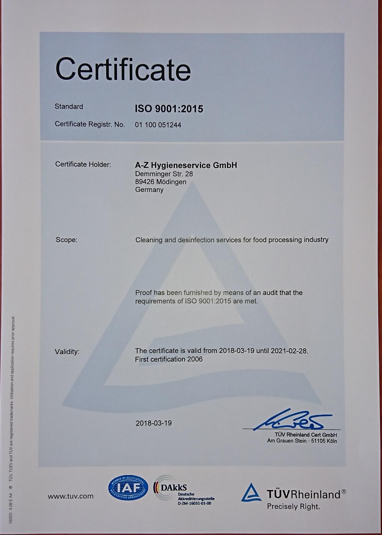 Zertifikat Englisch2